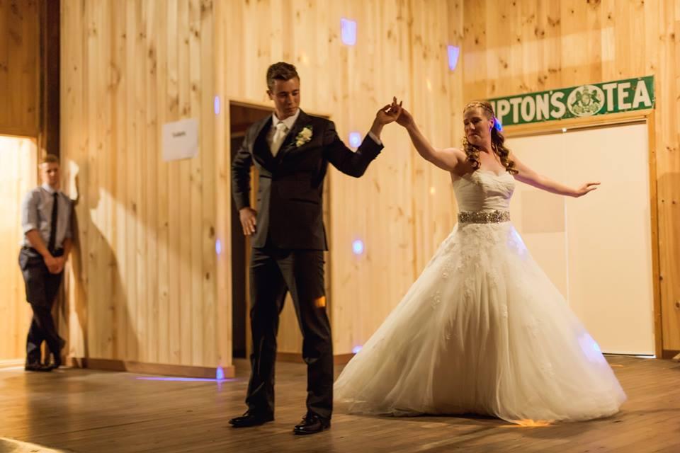 bridal walk at town hall venue