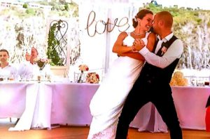 Joel & Angie Wedding Dance Dip