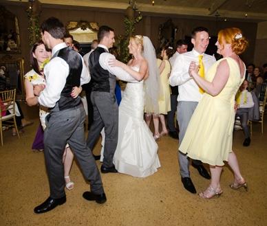 Wedding dance party in Fullarton