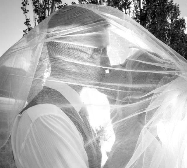 wedding kiss from wedding dance Couple Peter & Vicki