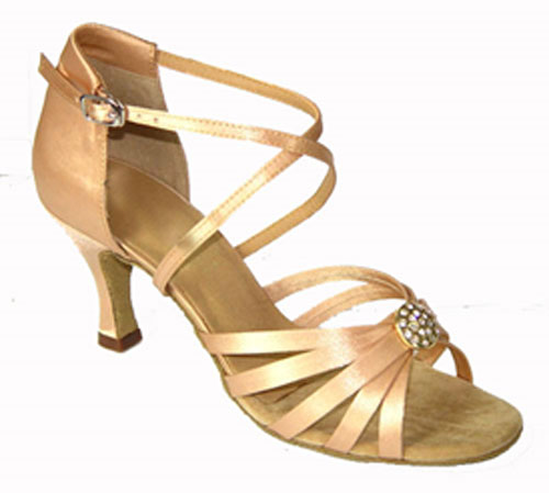 Ladies tan wedding dance shoes at Adelaide Wedding Dance