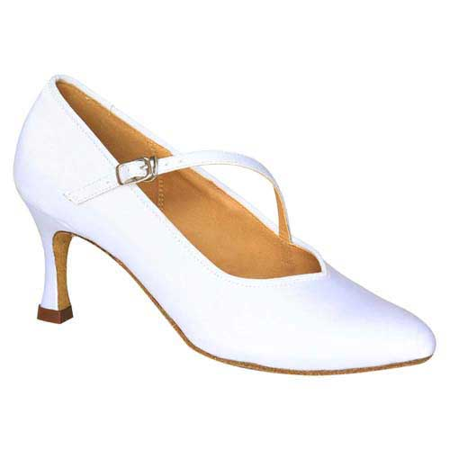 Ladies white wedding dance shoes at Adelaide Wedding Dance