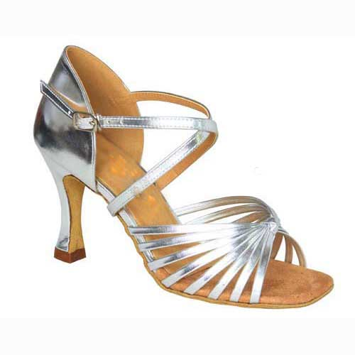 Ladies silver wedding dance shoes at Adelaide Wedding Dance
