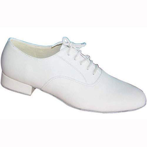 Mens white wedding dance shoes