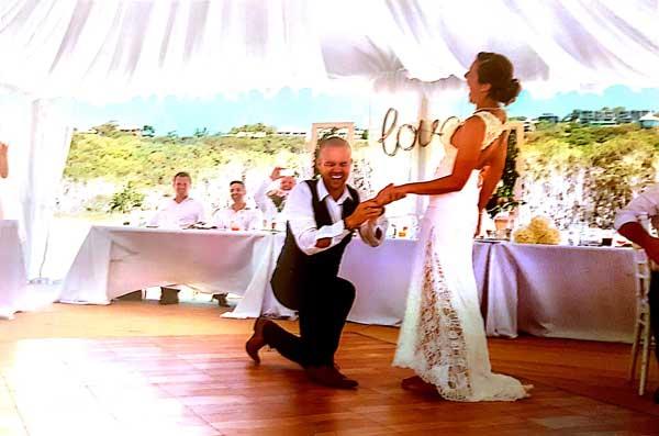 Joel & Angie final part of the wedding dance mash up choreography
