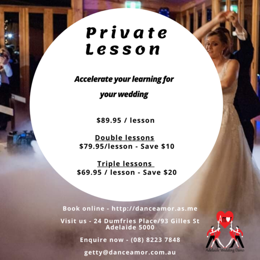Wedding Dance Lessons, Adelaide Wedding Dance Lessons