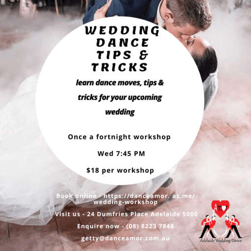 Wedding dance tips and tricks