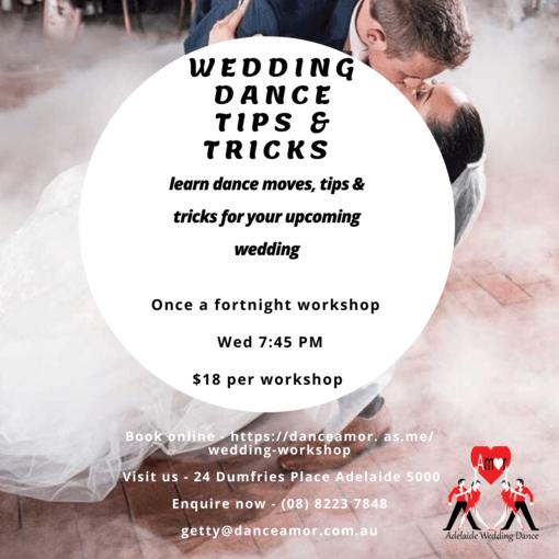 Wedding dance tips and tricks